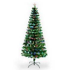 Vianočný stromček Jedľa Kaukazská s LED osvetlením 210 cm