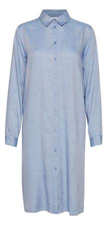 b.young ženska obleka Faustine 20808860, 34, modra