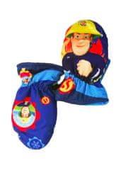 SETINO Chlapčenské rukavice - Požiarnik Sam - svetlo modrá