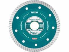 Total One-Stop Tools Kotouč diamantový řezný, ultra tenký, mokré řezání, 115cm, industrial