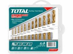 Total One-Stop Tools Vrtáky do kovu, sada 12ks