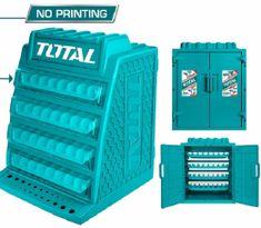 Total One-Stop Tools Skříňka na vrtáky