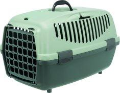 Trixie Be Eco Capri szállítóbox XS 32 x 31 x 48 cm, antracit/szürkés-zöld