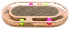 Trixie Grebalica u drvenom okviru s mačjom metvicom i igračkama, 45x4x25cm