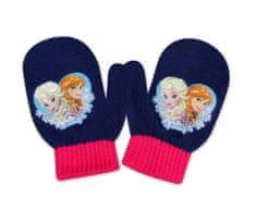 SETINO Dievčenské rukavice - Frozen - modrá - 10x13 cm