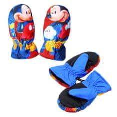 SETINO Chlapčenské rukavice - Mickey mouse - modrá