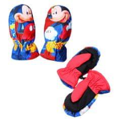 SETINO Chlapčenské rukavice - Mickey mouse - červená