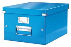 """Leitz Univerzální krabice """"Click&Store"""", modrá, A4 60440036"""
