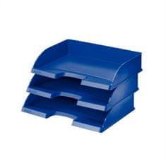 """Leitz Odkladač """"Plus"""", modrá, z boku otevřený, plast"""