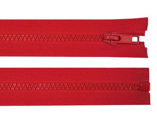 Kraftika 1ks 148 high risk red kostěný zip šíře 5mm délka 75 cm
