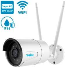 Reolink Reolink RLC-410W vanjska kamera, WiFi, 4MP, Super HD, mikrofon, IP66