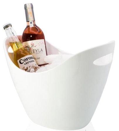Rubikap Disco posoda za šampanjec, 26x35 cm, bela