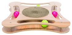 Trixie Grebalica u drvenom okviru s igračkama, 35x4x35