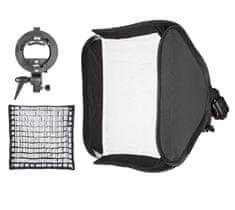 Godox 60x60cm skladací softbox s voštinou a držiakom pre externý blesk