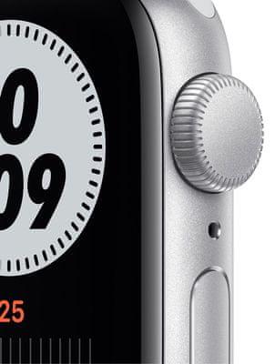 Chytré hodinky Apple Watch Nike SE (MYYH2HC/A tísňové volání detekce pohybu a automatické přivolání pomoci