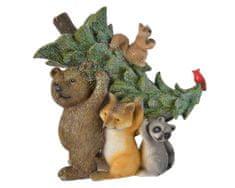 Kaemingk Dekorácia Zvieratká v lese