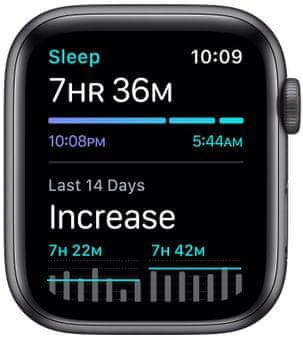 Chytré hodinky Apple Watch Nike SE MYYF2HC/A nike run club pro běhání sledování tepu srdeční činnost monitorování aktivity notifikace