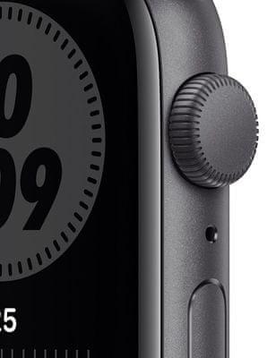 Chytré hodinky Apple Watch Nike SE (MYYF2HC/A tísňové volání detekce pohybu a automatické přivolání pomoci