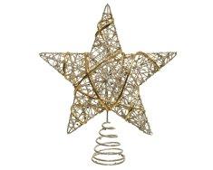 Kaemingk Špička - hvězda - zlatá