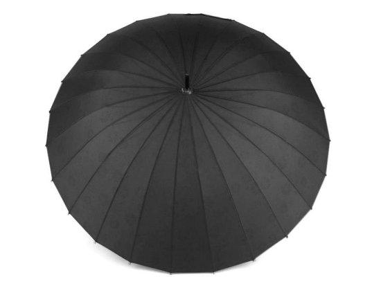 Kraftika 1ks černá dámský deštník kouzelný s květy