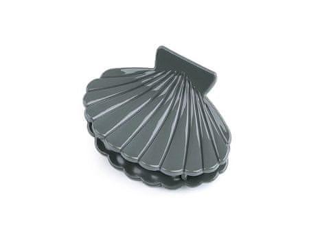 Kraftika 1db 5 szürke haj karom kagyló alakú, karmok, mini karmok