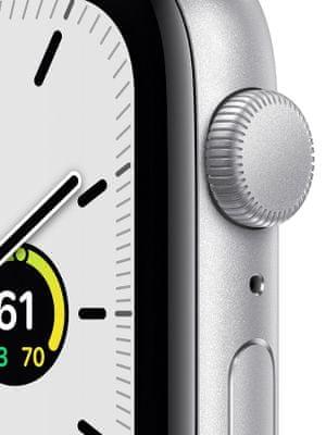 Chytré hodinky Apple Watch SE MYDQ2HC/A tísňové volání detekce pohybu a automatické přivolání pomoci