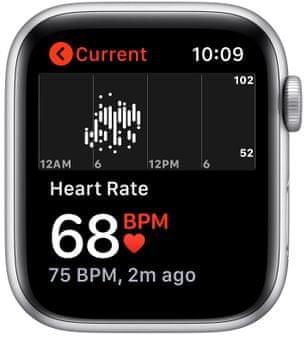 Chytré hodinky Apple Watch SE MYDQ2HC/A pro běhání EKG sledování tepu srdeční činnost monitorování aktivity notifikace