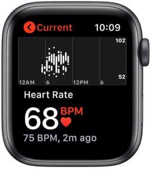 Chytré hodinky Apple Watch SE MYDP2HC/A pro běhání EKG sledování tepu srdeční činnost monitorování aktivity notifikace