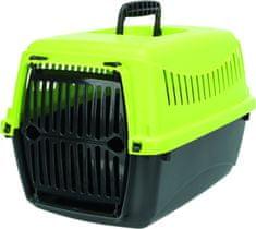 Trixie Capri XXS transportný box 26x25x39cm, antracit/zelená
