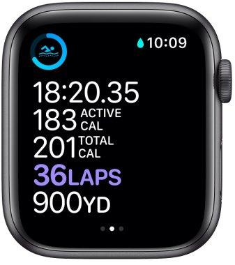 Chytré hodinky Apple Watch Series 6, EKG sledovanie tepu srdcová činnosť monitorovanie aktivity notifikácia online platby Apple Pay tréningové programy prehrávanie hudby notifikácia volanie snímanie okysličenia krvi detekcie pádu