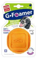 GiGwi hračka pro psy Foamer Ball míček tvrzená pěna oranžový