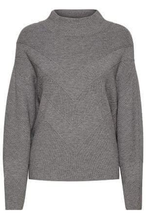 b.young ženski pulover Milo 20808926, M, siv