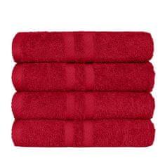 SCANquilt ručník KLASIK červená