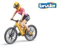 BRUDER 63111 BWORLD Cyklistka na kole