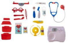 Teddies Sada doktor/lékař plast v plastovém kufříku