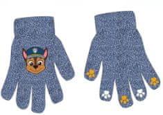 """Eplusm Chlapčenské prstové rukavice - """"Paw Patrol"""" - modrá"""