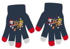 Eplusm Chlapčenské prstové rukavice - Paw Patrol - modrá