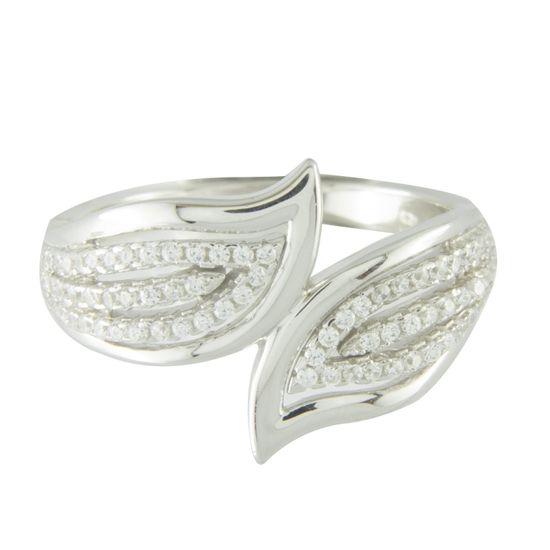 Amiatex Strieborný prsteň 67332, 53