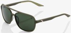100% sluneční brýle KASIA - zelená čočka, 100% (zelená) 61042-190-74
