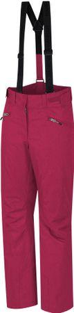 Hannah spodnie narciarskie damskie Haney 42, różowy