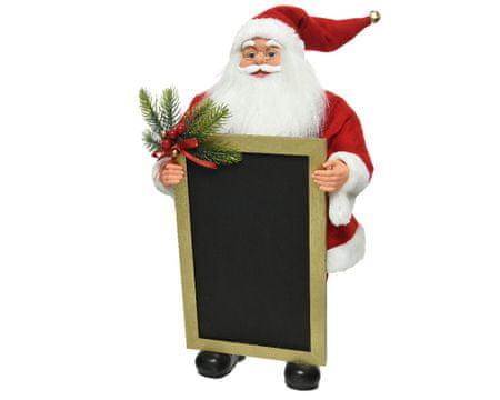 Kaemingk Ukras Djed Mraz s tablom - 63 cm