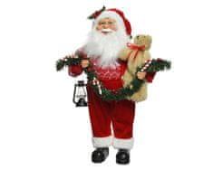 Kaemingk dekoracija Djed božićnjak s vijencima, 45 cm
