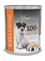 Starvita Exclusive csirkehús konzerv 6x820 g