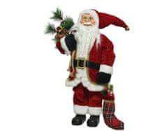 Kaemingk Télapó karácsonyi zoknival dekoráció - 60 cm