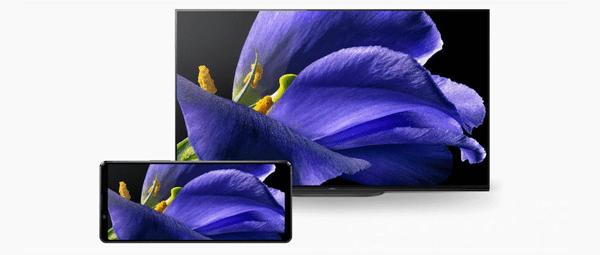 Sony Xperia 1 II, 4K HDR OLED displej, velký bezrámečkový displej, vysoké rozlišení