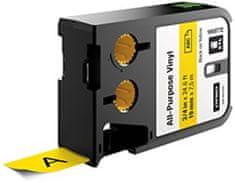 """Dymo Páska, štítky """"XTL"""" žlutá-černá, vinyl, 19 mm x 7,5 m"""
