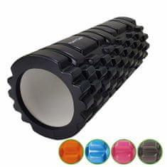 Tunturi Masážní válec Foam Roller 33 cm / 13 cm černý
