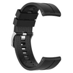 BStrap Huawei Watch GT 42mm Silicone Cube remienok, Black