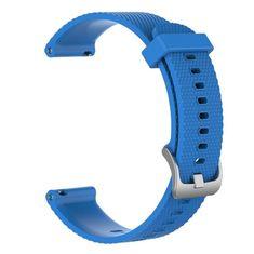 BStrap Garmin Vivoactive 3 Silicone Land szíj, Blue