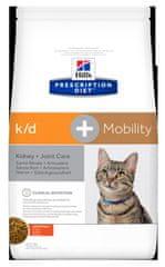 Hill's PD Feline k/d+Mobility hrana za mačke, 2 kg